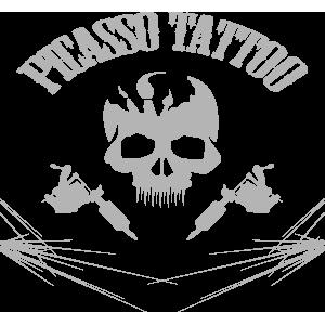 Picasso Tattoo Studio München - Logo Silver