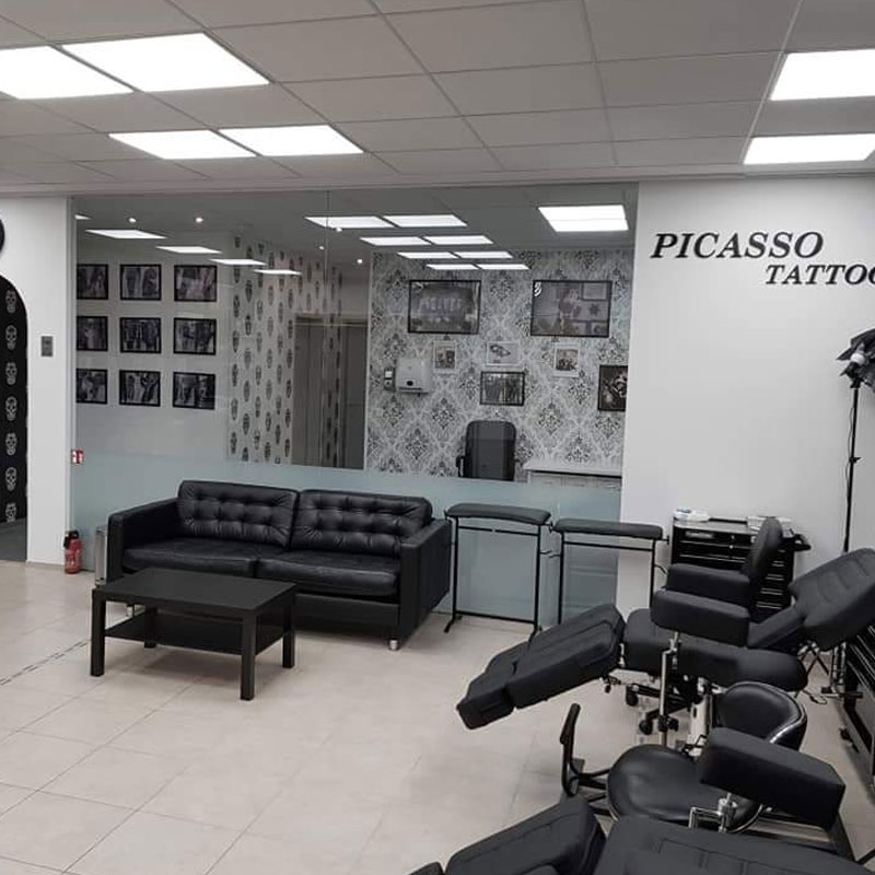 Tattoo München - Picasso Tattoo Studio